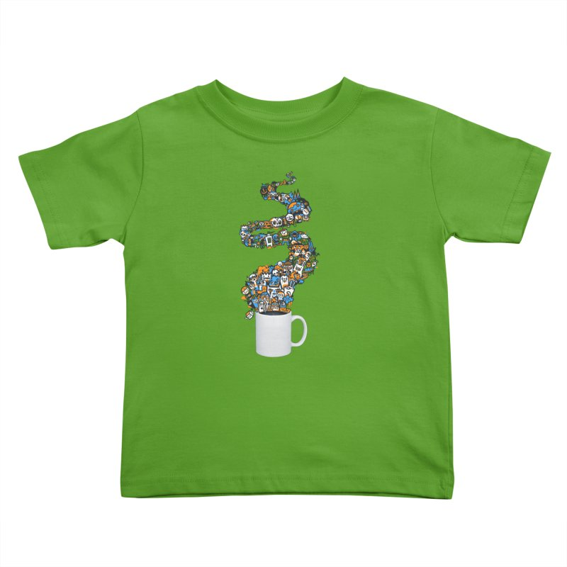 Wakey Wakey Kids Toddler T-Shirt by wotto's Artist Shop