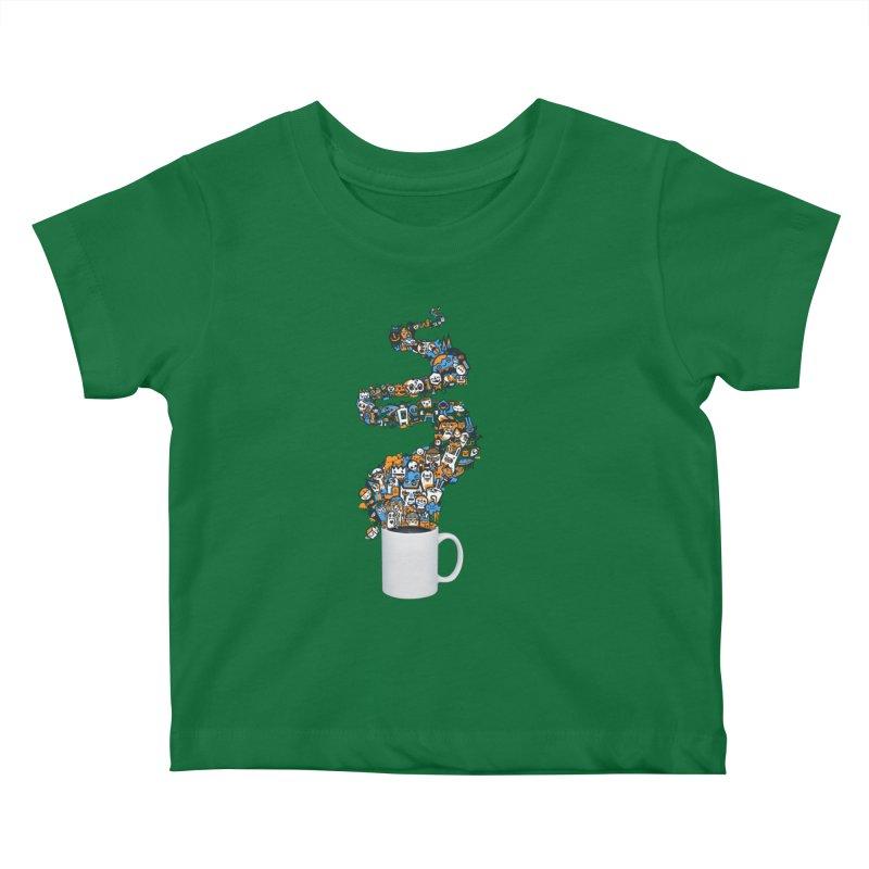 Wakey Wakey Kids Baby T-Shirt by wotto's Artist Shop