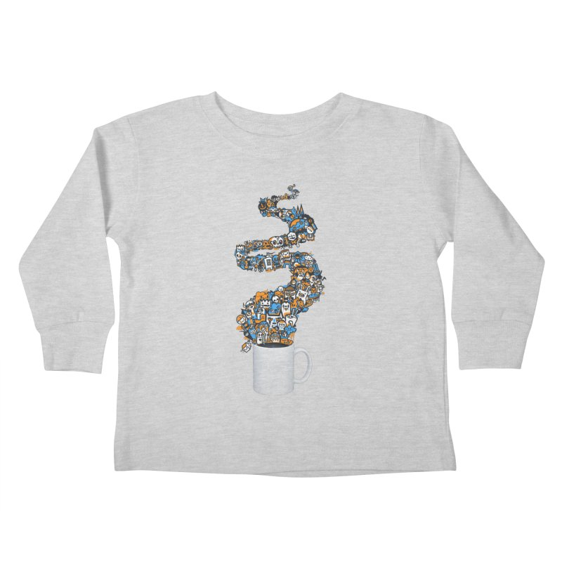 Wakey Wakey Kids Toddler Longsleeve T-Shirt by wotto's Artist Shop