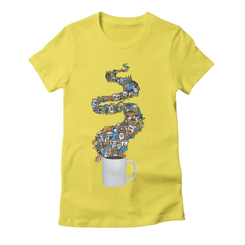 Wakey Wakey Women's T-Shirt by wotto's Artist Shop