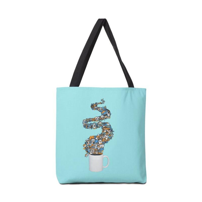 Wakey Wakey Accessories Bag by wotto's Artist Shop