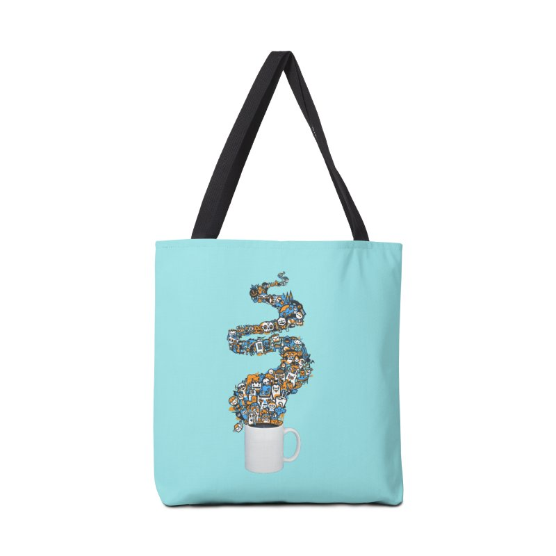 Wakey Wakey Accessories Tote Bag Bag by wotto's Artist Shop