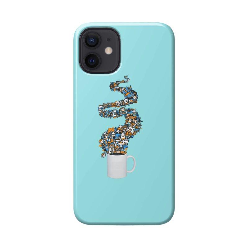 Wakey Wakey Accessories Phone Case by wotto's Artist Shop