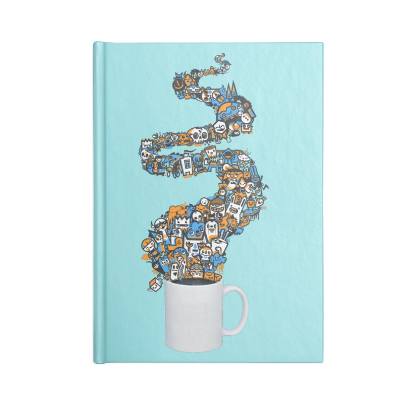 Wakey Wakey Accessories Notebook by wotto's Artist Shop