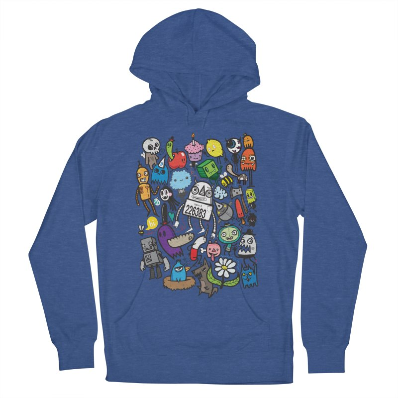 Many Colorful Friends Women's Pullover Hoody by wotto's Artist Shop