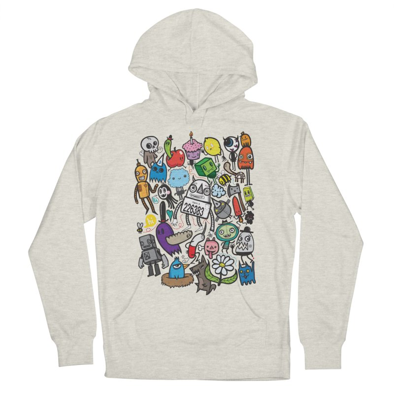 Many Colorful Friends Men's Pullover Hoody by wotto's Artist Shop
