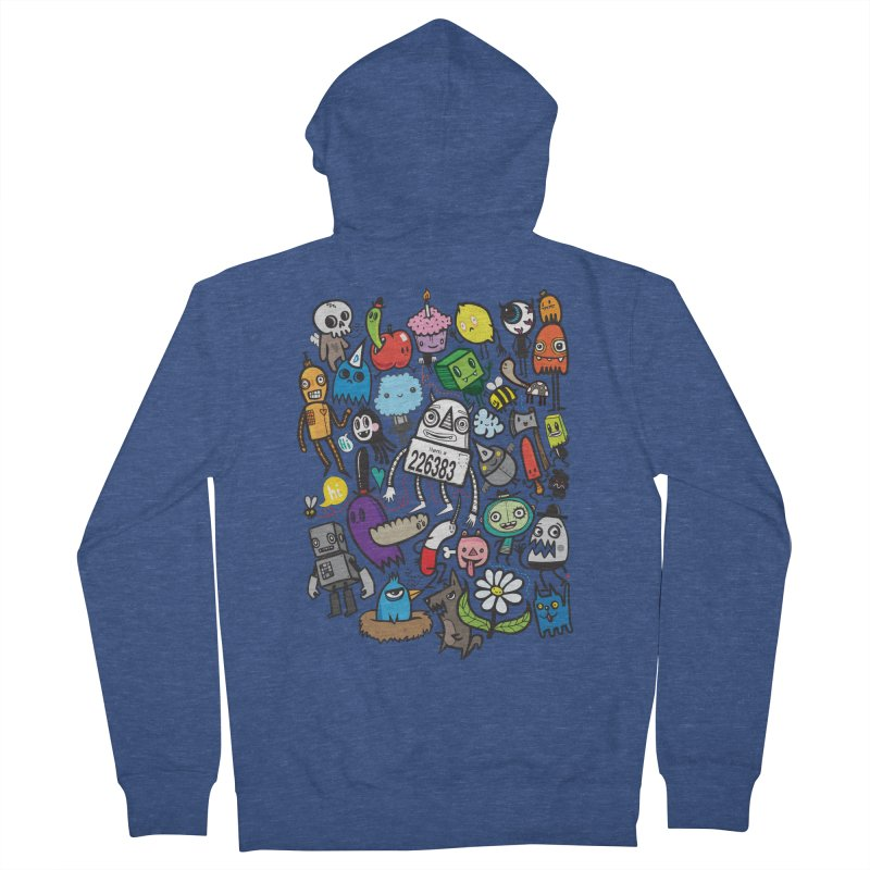 Many Colorful Friends Women's Zip-Up Hoody by wotto's Artist Shop