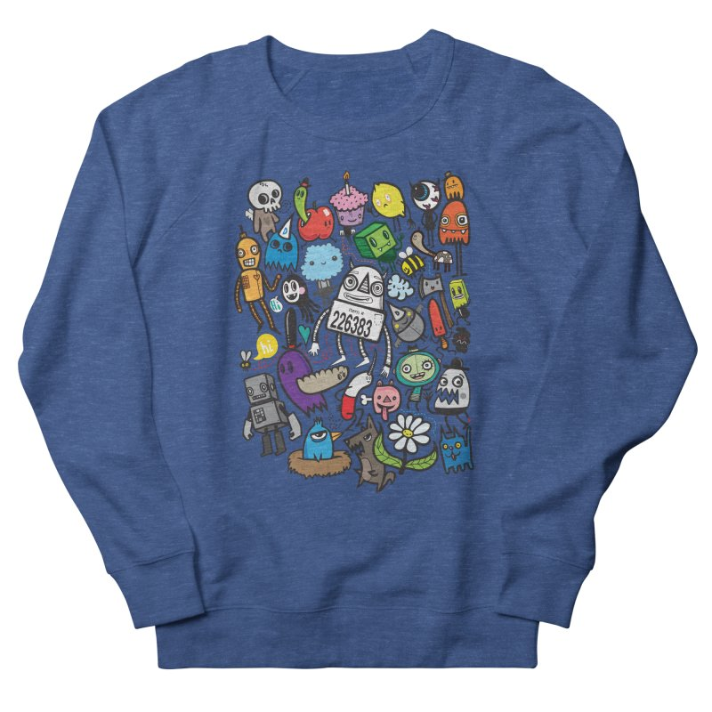 Many Colorful Friends Women's Sweatshirt by wotto's Artist Shop