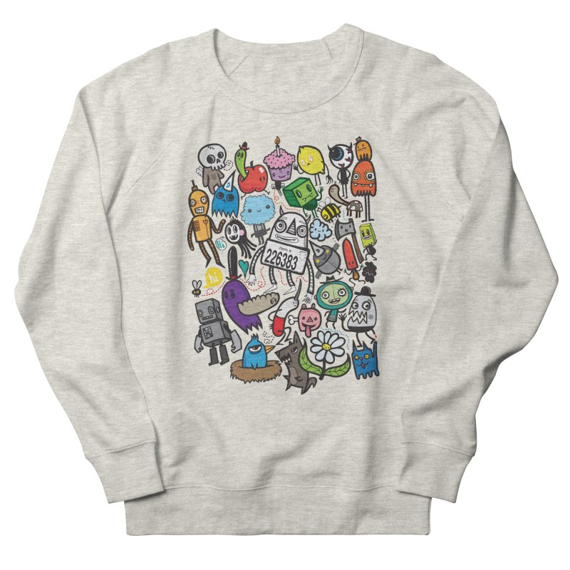 Many Colorful Friends Women's Sweatshirt by wotto's Artist Shop