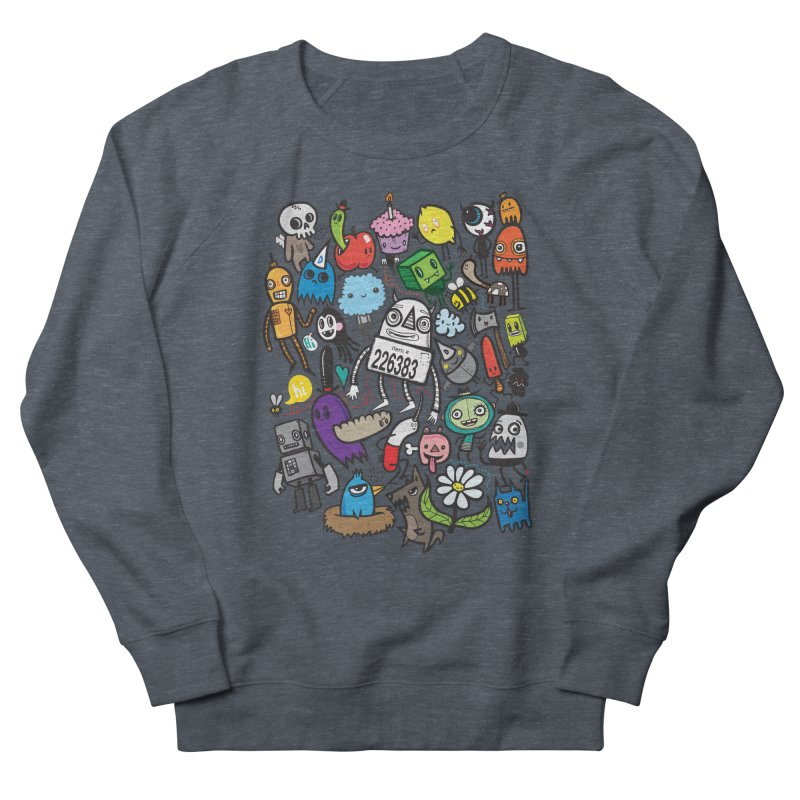 Many Colorful Friends Men's Sweatshirt by wotto's Artist Shop