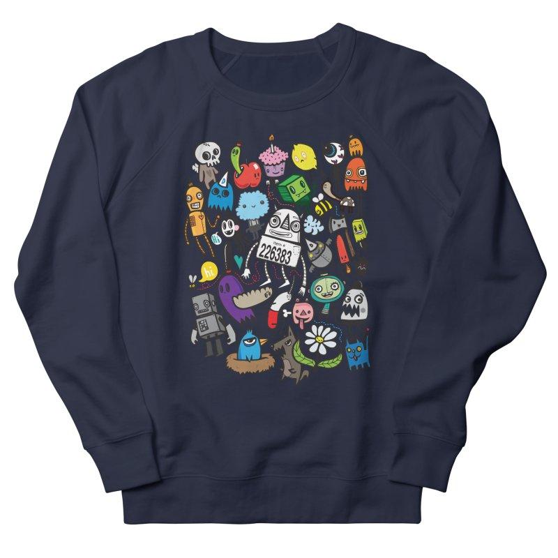 Many Colorful Friends Men's Sweatshirt by wotto's Artist Shop