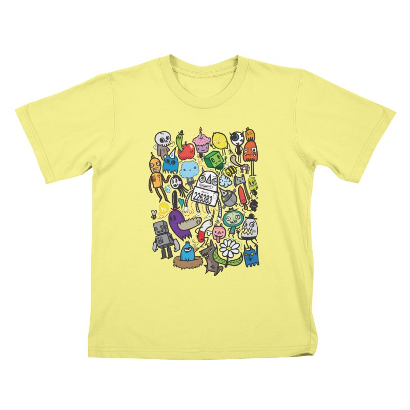 Many Colorful Friends   by wotto's Artist Shop