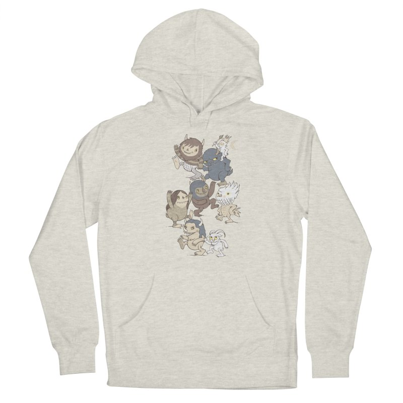 WTWTA Men's French Terry Pullover Hoody by wotto's Artist Shop