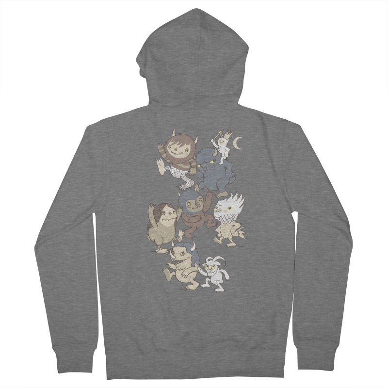 WTWTA Women's French Terry Zip-Up Hoody by wotto's Artist Shop