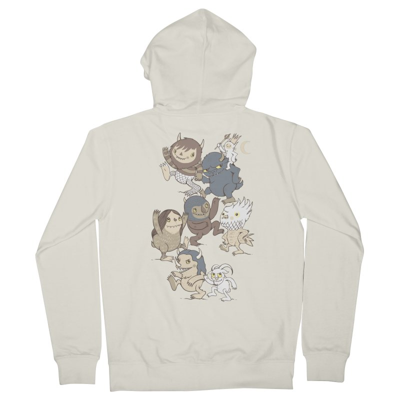 WTWTA Men's Zip-Up Hoody by wotto's Artist Shop