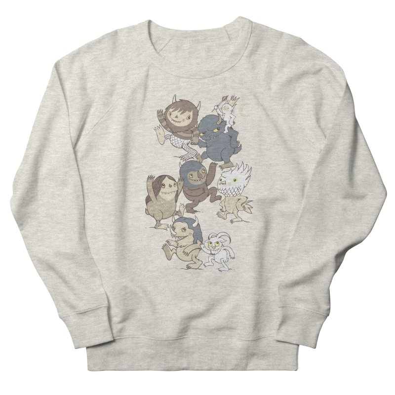 WTWTA Women's French Terry Sweatshirt by wotto's Artist Shop