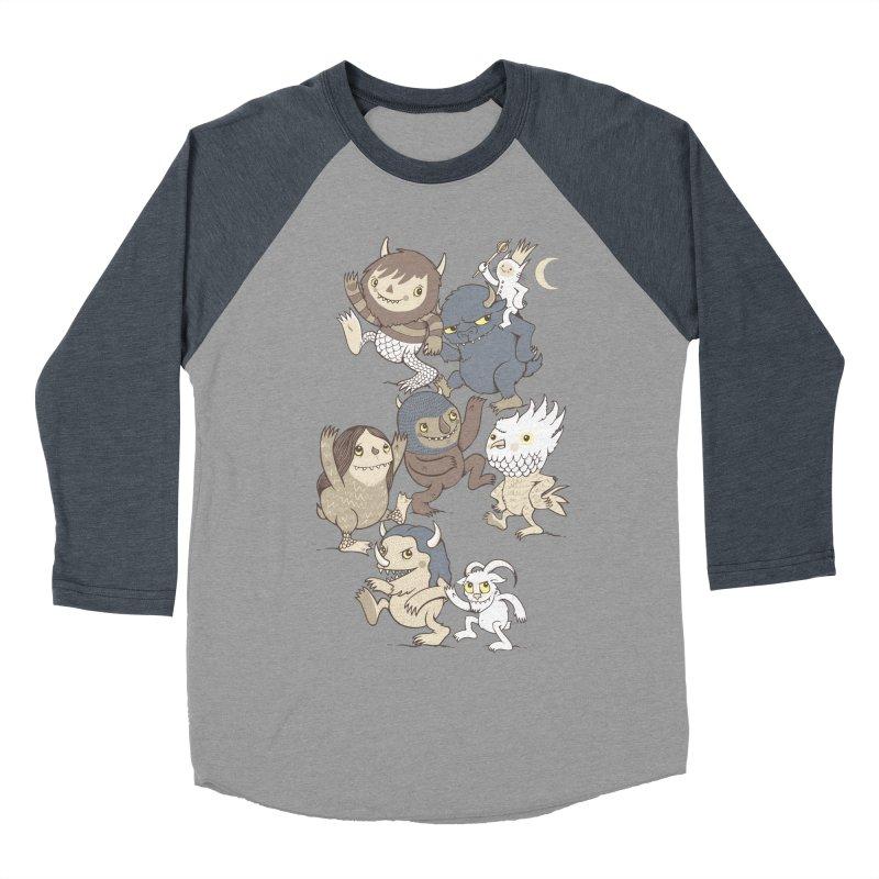 WTWTA Women's Baseball Triblend T-Shirt by wotto's Artist Shop