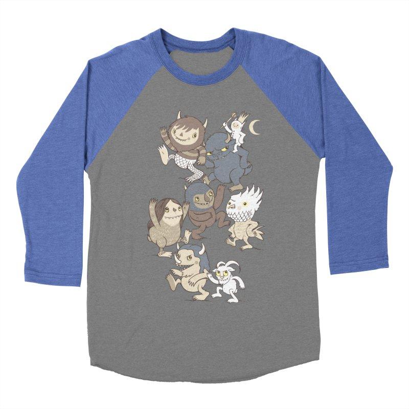 WTWTA Men's Baseball Triblend T-Shirt by wotto's Artist Shop