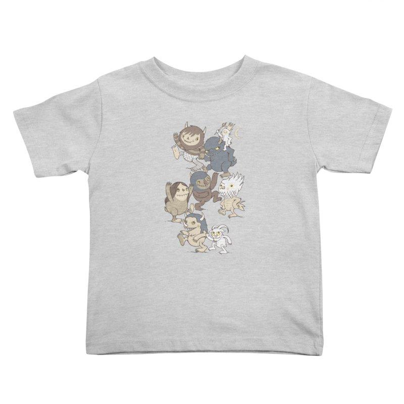 WTWTA Kids Toddler T-Shirt by wotto's Artist Shop