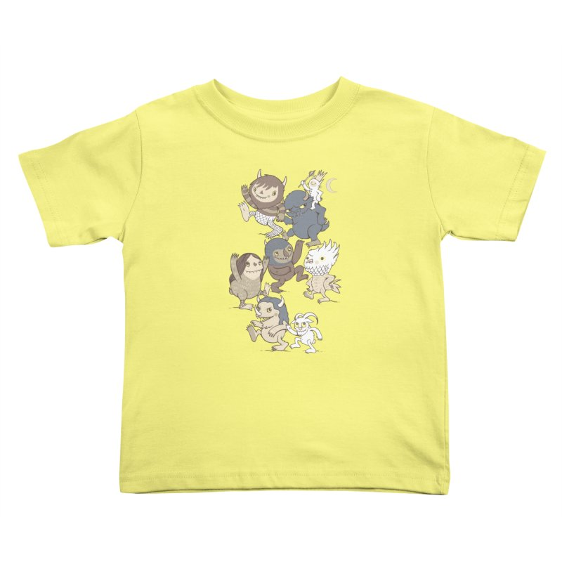 WTWTA Kids Toddler T-Shirt by wotto's Artist Shop
