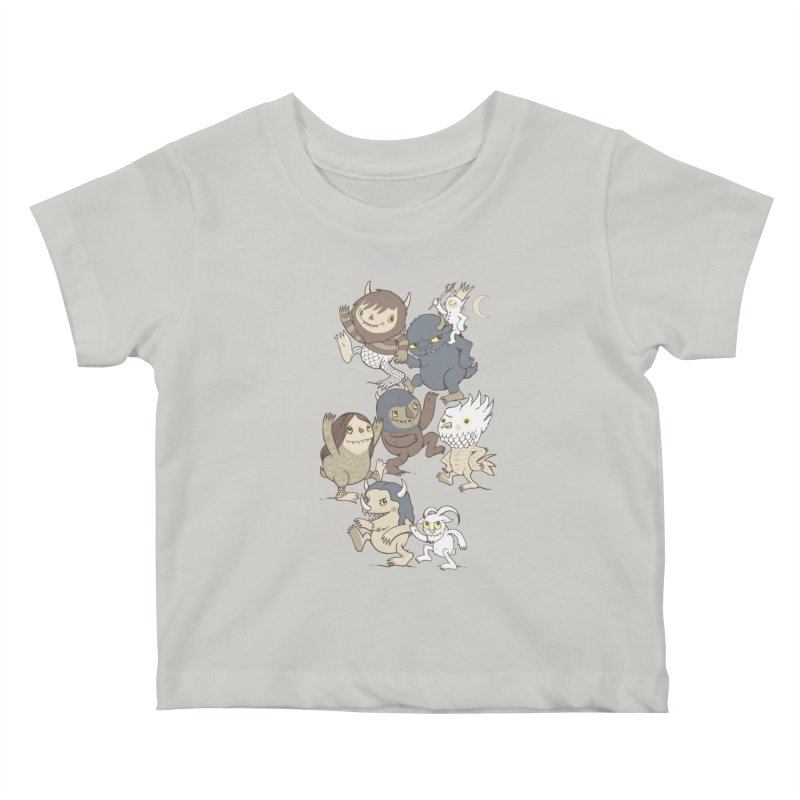 WTWTA Kids Baby T-Shirt by wotto's Artist Shop