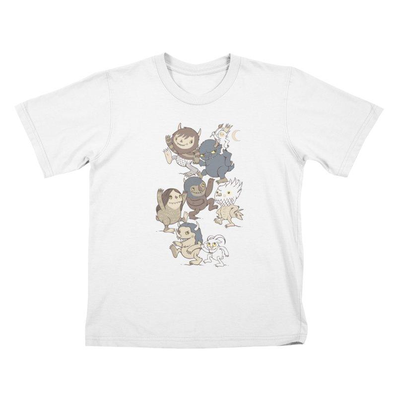 WTWTA Kids T-Shirt by wotto's Artist Shop