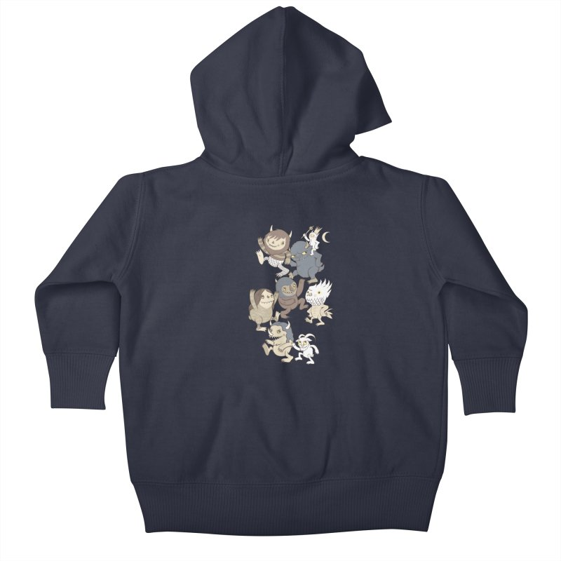 WTWTA Kids Baby Zip-Up Hoody by wotto's Artist Shop