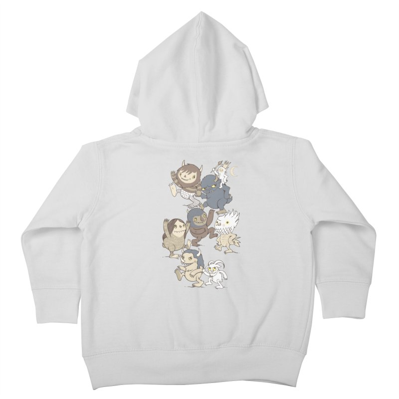 WTWTA Kids Toddler Zip-Up Hoody by wotto's Artist Shop