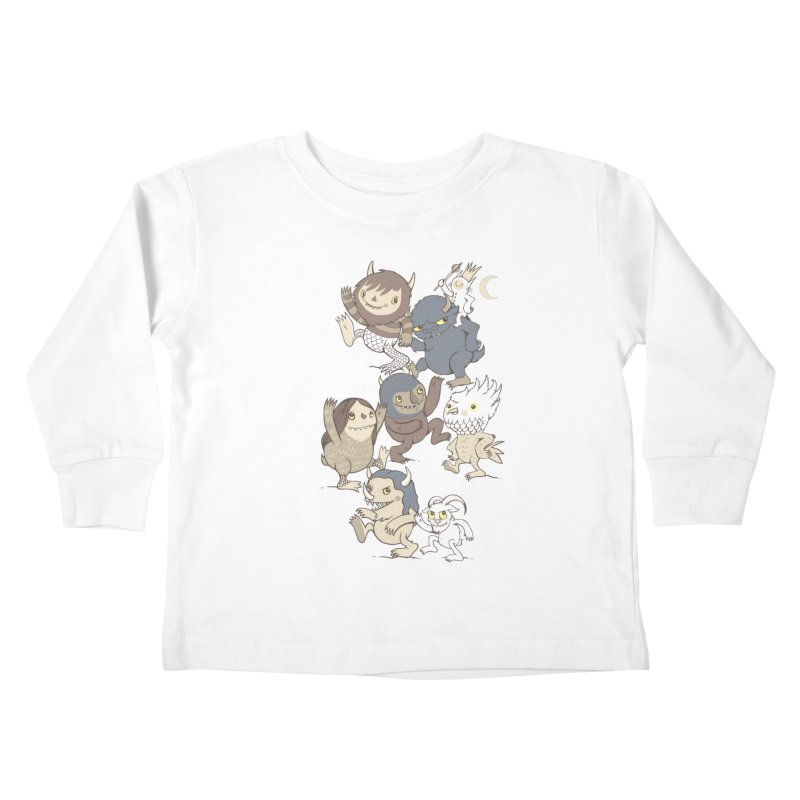 WTWTA Kids Toddler Longsleeve T-Shirt by wotto's Artist Shop