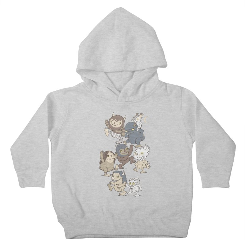 WTWTA Kids Toddler Pullover Hoody by wotto's Artist Shop
