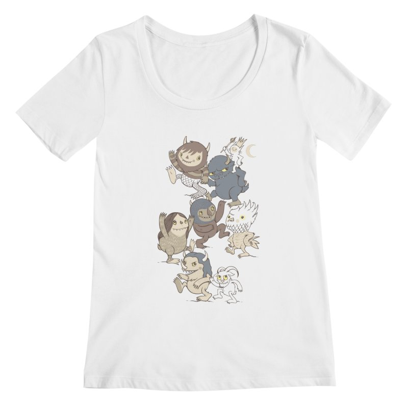 WTWTA Women's Scoopneck by wotto's Artist Shop