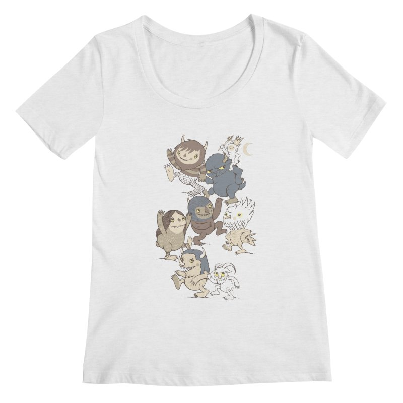 WTWTA Women's Regular Scoop Neck by wotto's Artist Shop
