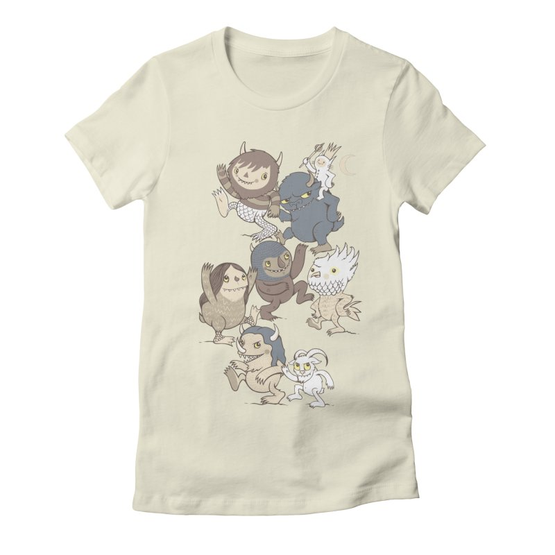 WTWTA Women's Fitted T-Shirt by wotto's Artist Shop