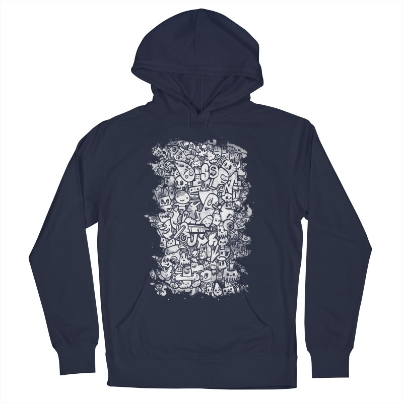 Watercolor Doodles  Men's Pullover Hoody by wotto's Artist Shop