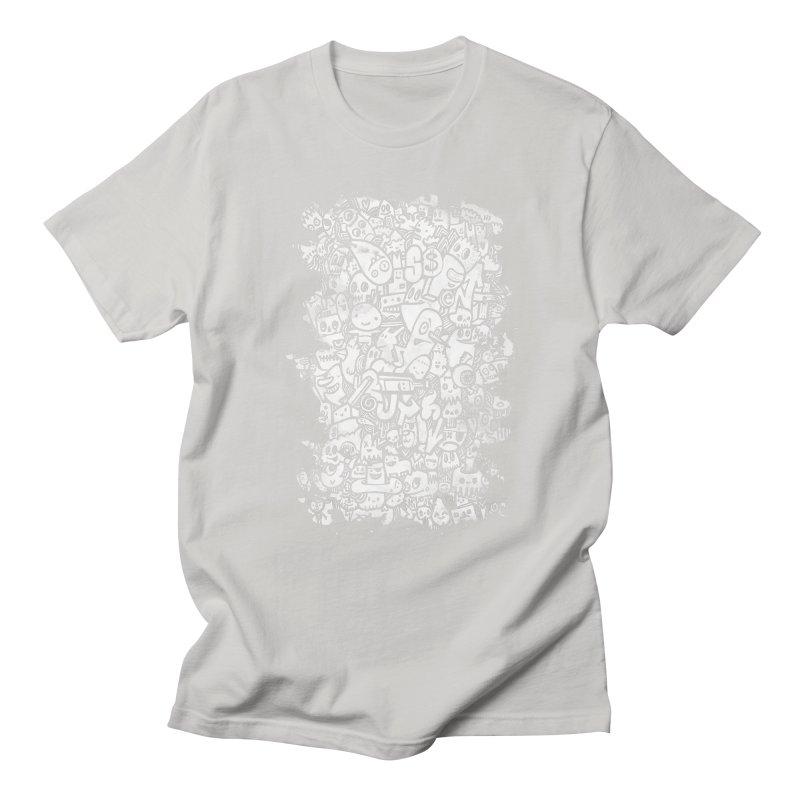 Watercolor Doodles  Men's T-shirt by wotto's Artist Shop