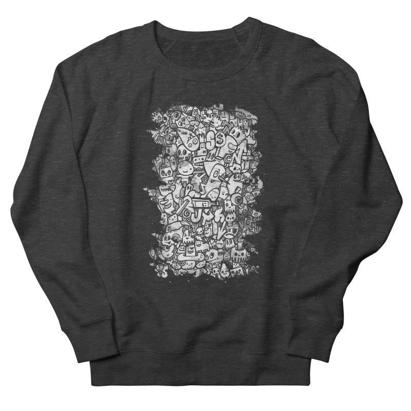 Watercolor Doodles Men's French Terry Sweatshirt by wotto's Artist Shop