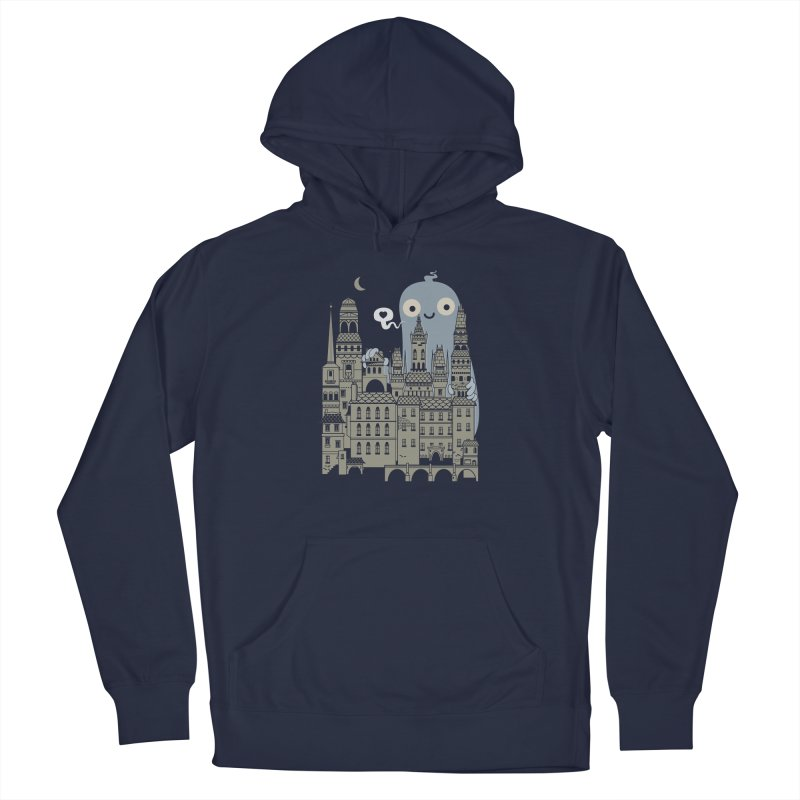Ghost Town Women's Pullover Hoody by wotto's Artist Shop