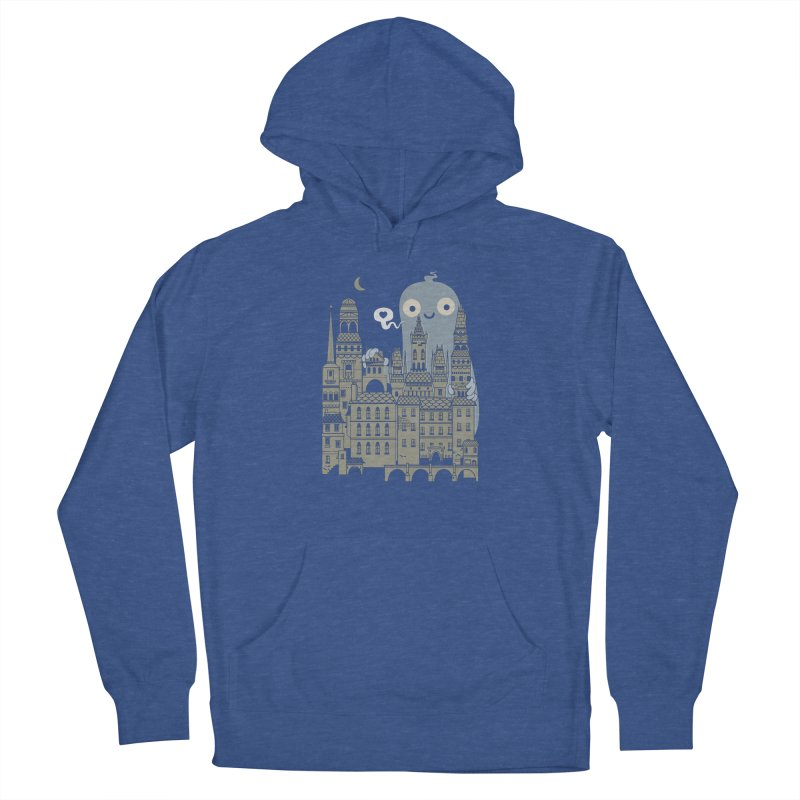 Ghost Town Men's French Terry Pullover Hoody by wotto's Artist Shop