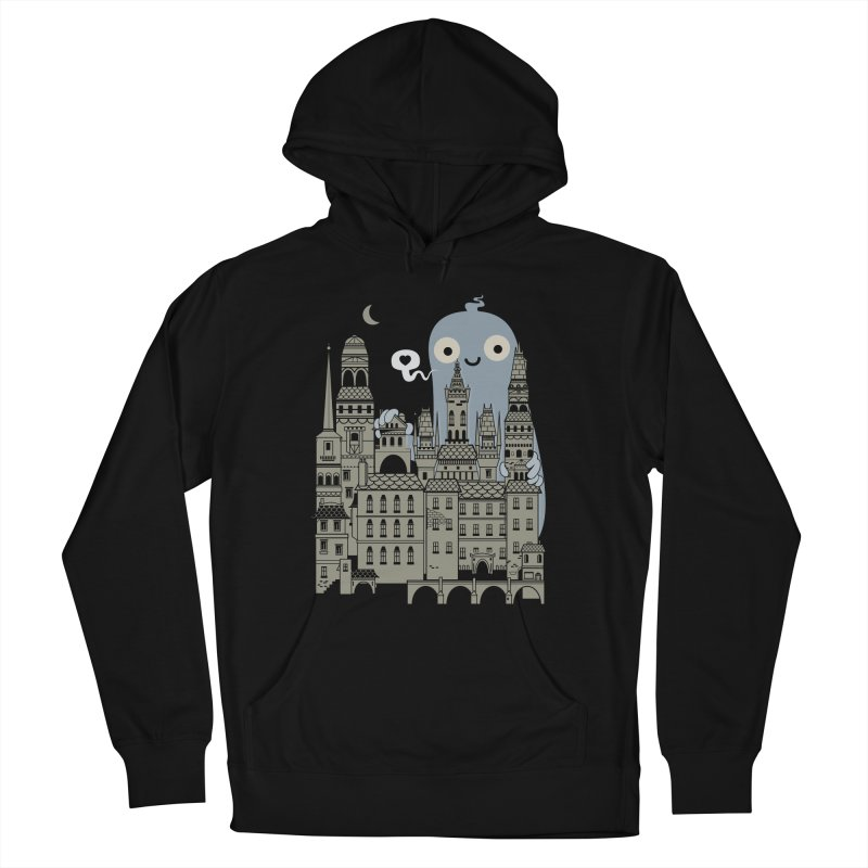 Ghost Town Men's Pullover Hoody by wotto's Artist Shop