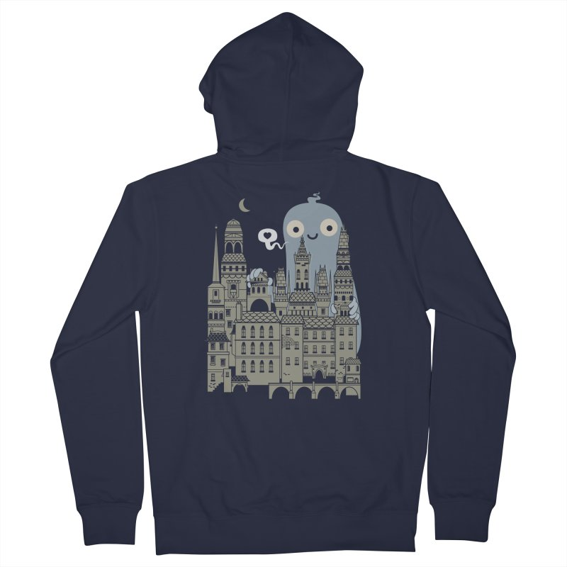 Ghost Town Women's Zip-Up Hoody by wotto's Artist Shop