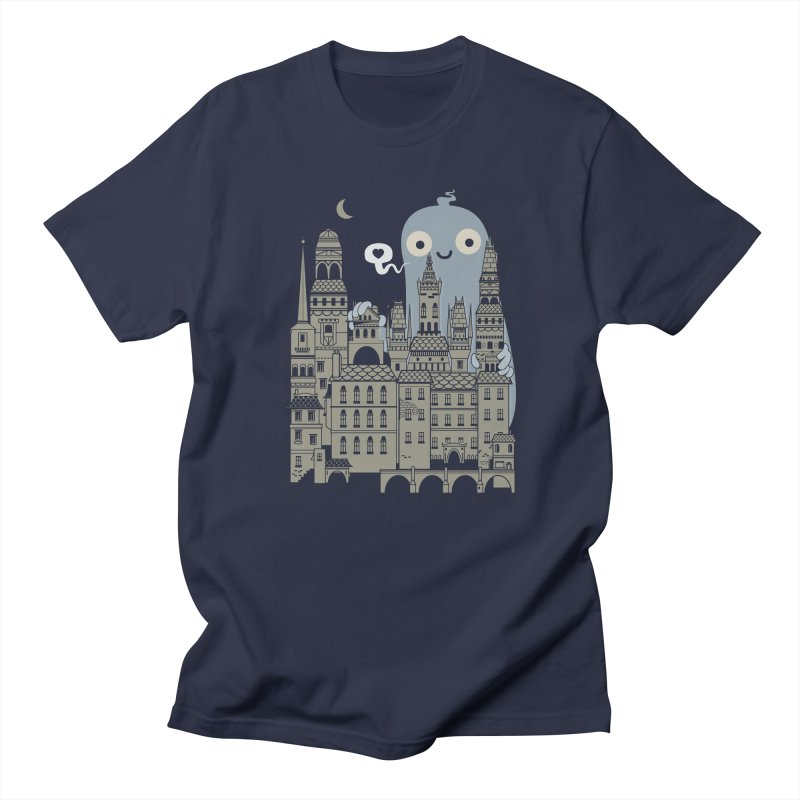 Ghost Town Men's T-shirt by wotto's Artist Shop