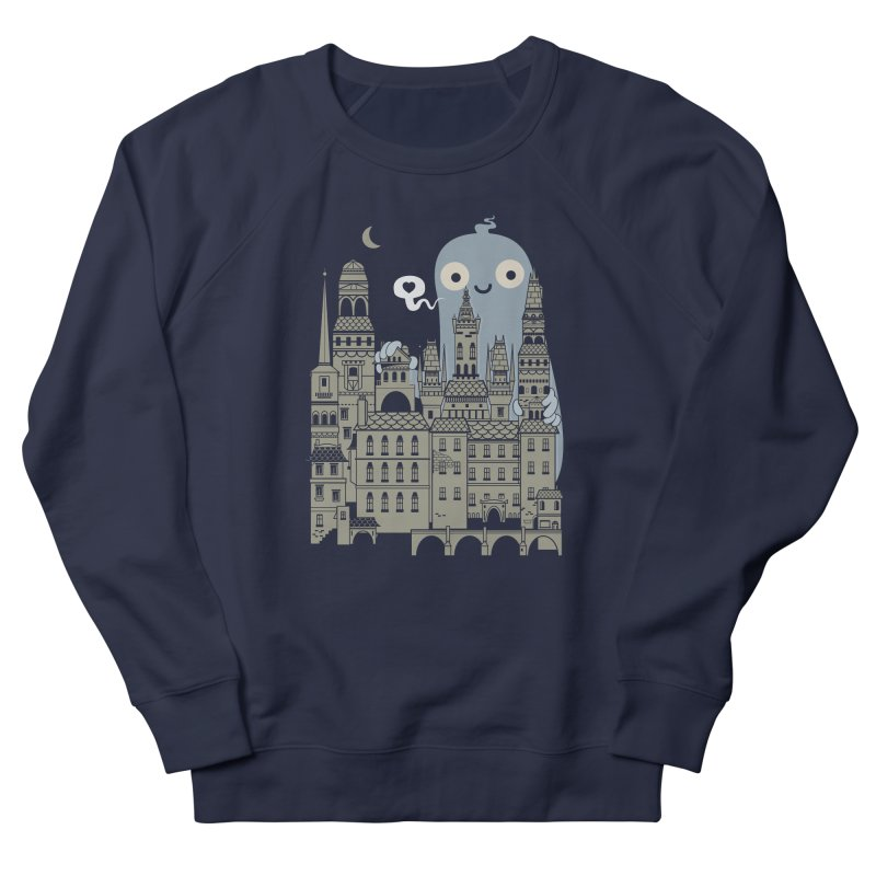 Ghost Town Women's Sweatshirt by wotto's Artist Shop