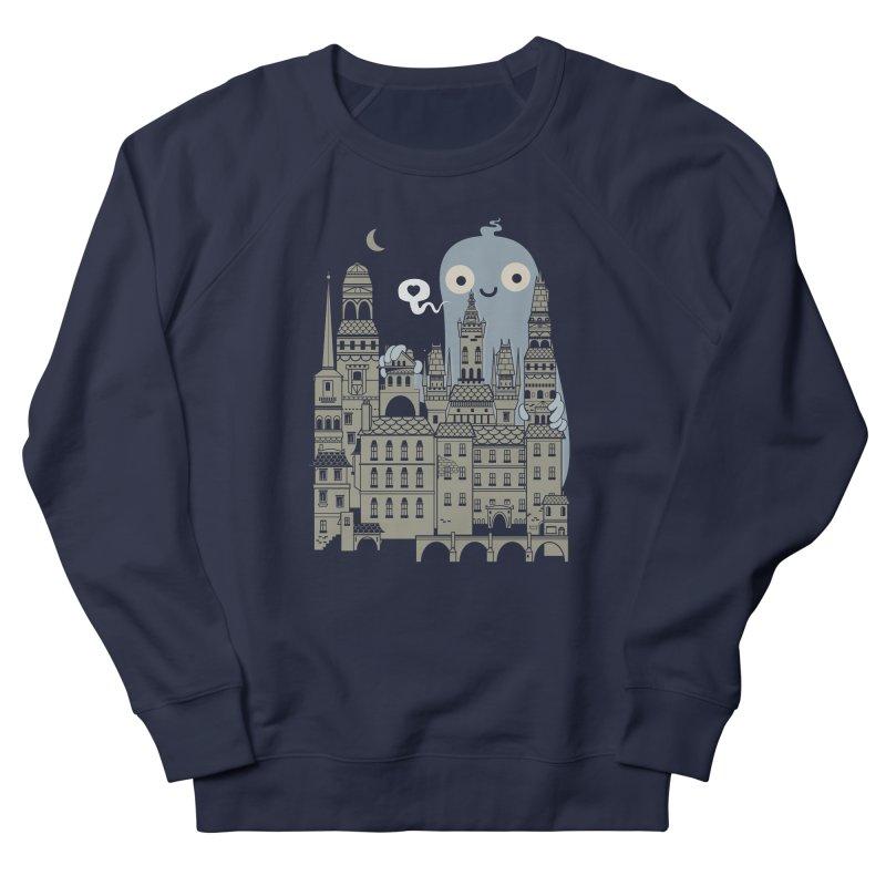 Ghost Town Men's Sweatshirt by wotto's Artist Shop