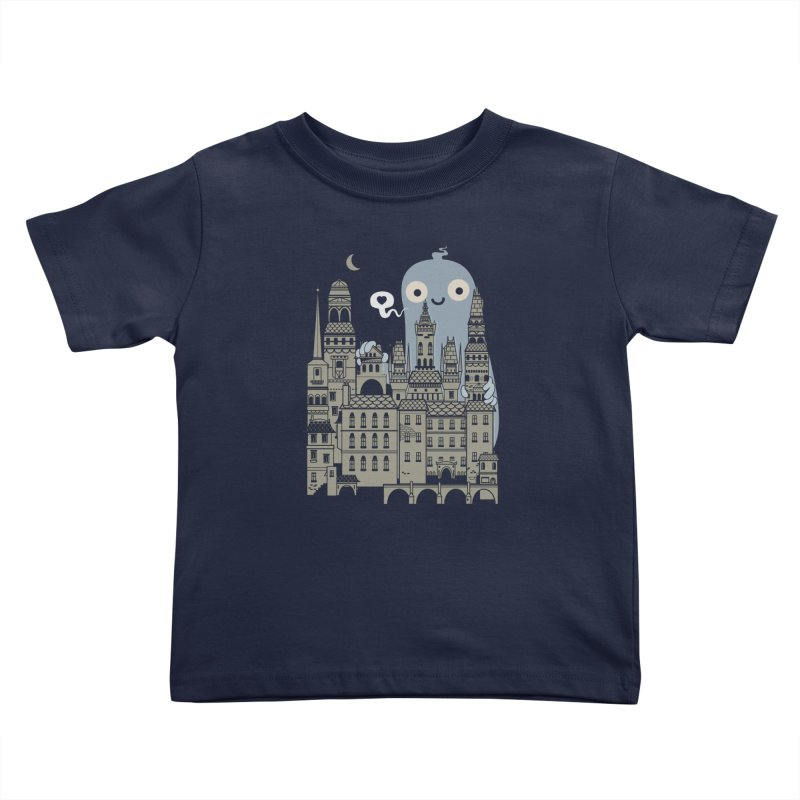 Ghost Town Kids Toddler T-Shirt by wotto's Artist Shop