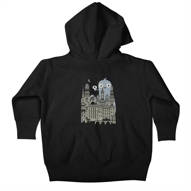 Ghost Town Kids Baby Zip-Up Hoody by wotto's Artist Shop
