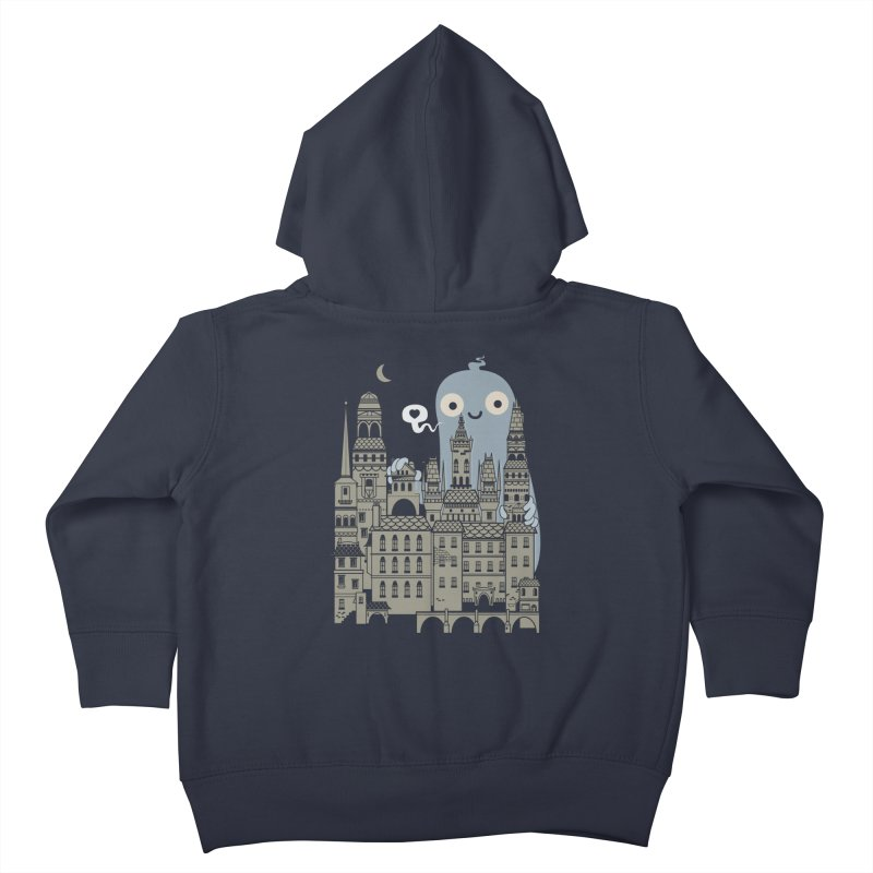 Ghost Town Kids Toddler Zip-Up Hoody by wotto's Artist Shop