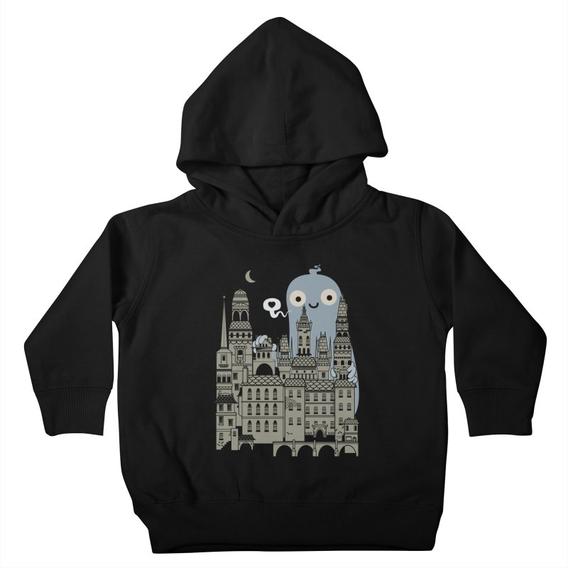 Ghost Town Kids Toddler Pullover Hoody by wotto's Artist Shop