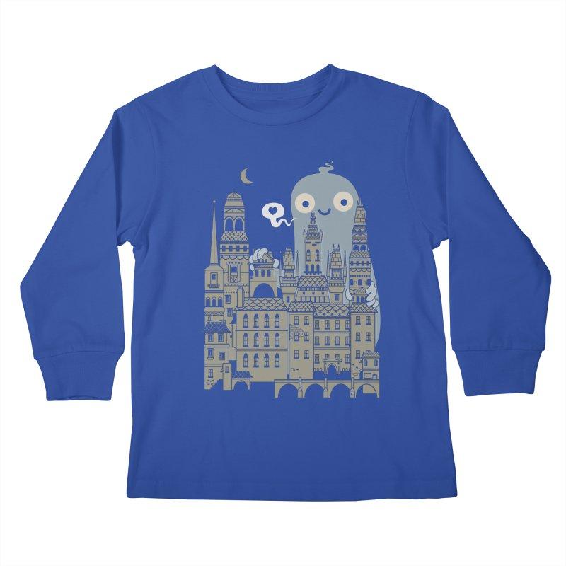 Ghost Town Kids Longsleeve T-Shirt by wotto's Artist Shop