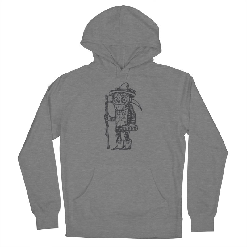 Death Waits Women's French Terry Pullover Hoody by wotto's Artist Shop