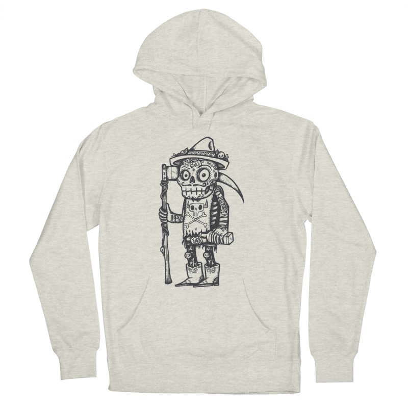 Death Waits Men's French Terry Pullover Hoody by wotto's Artist Shop